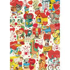 decorative paper cavallini decorative paper retro valentines
