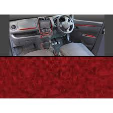renault kwid red colour buy autographix renault kwid xtxl dashboard trims