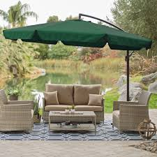 Patio Gazebo Clearance by Greenhome123 Gcu519841713 11 Foot Outdoor Offset Patio Umbrella