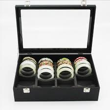 jewellery box necklace storage images Bracelet storage box hand jade bracelet receive show gold and jpg