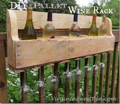diy pallet wine rack sweet pea