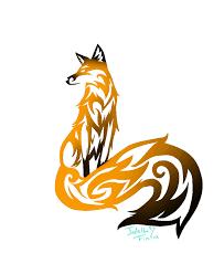 tribal fox by jadethefirefox on deviantart