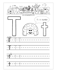free printable letter t worksheets for kindergarten u0026 preschool