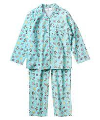 emoji robe girls flannel pyjamas postie