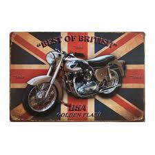 motorcycle home decor signs sp jt 006 new metal painting vintage tin signs finish your