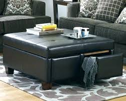 Black Storage Ottoman With Tray Coffee Table With Storage Ottomans Coffee Table Storage Ottoman