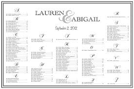10 best images of wedding table chart wedding seating chart