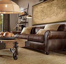 Living Room With Brown Leather Sofa Leather Furniture Living Room Ideas Magnificent Living