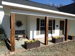 Decorative Column Wraps Articles With Old Porch Post Ideas Tag Extraordinary Porch Post