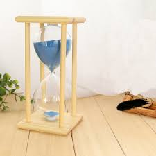 Hourglass Home Decor Amazon Com Xdobo New Design Hand Blown Hourglass In Wooden Stand