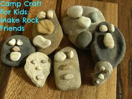 camp craft for kids make rock friends my kids guide
