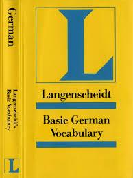 langenscheidt reference bock heiko basic german vocabulary