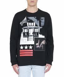 givenchy sweater givenchy l a cotton sweatshirt l inde le palais