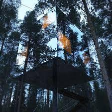 mirrorcube by tham videgård arkitekter dezeen