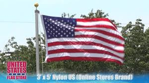 Flag Store 3ft X 5ft Nylon Us Flag Online Stores Brand Youtube