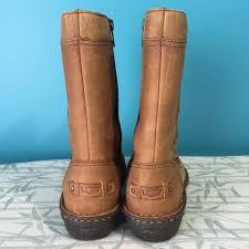 ugg s kaleen boot ugg australia chestnut s kaleen boots booties size us 7