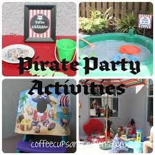 pirate party ideas pirate party ideas coffee cups and crayons