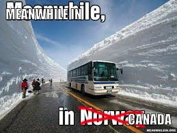 Canada Snow Meme - funny meanwhile in canada snow pictures to pin on pinterest