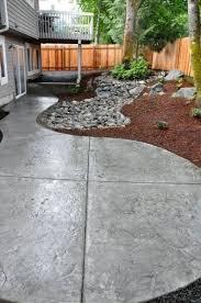 Pinterest Concrete Patio Best 25 Concrete Backyard Ideas On Pinterest Concrete Patio
