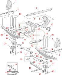 four spring tandem suspension