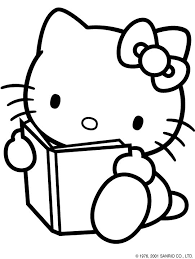 176 kitty images sanrio coloring sheets