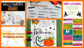 crayon freckles 25 free halloween printables for kids