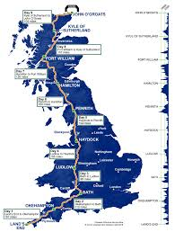 Nottingham England Map by Cycling Challenges 9 Day Classic U0026 Plus Ride Across Britain