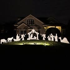 outdoor nativity set large complete nativity set