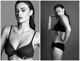Calvin Klein S Plus Size Model Sparks Controversy - in her words calvin klein sparks what is plus size debate with