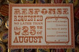 creative write rsvp card funny wording of wedding invitation
