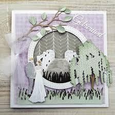 marianne design creatables die weeping willow tree lr0429