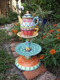 Garden Crafts Ideas Amazing Of In Garden Decor Whimsical Garden Craft