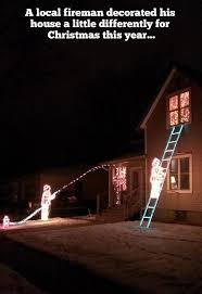 firefighter home decorations a fireman s christmas light decoration holiday light show videos