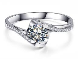 diamond rings new images Pure diamond rings new arrival 0 6 carat diamond women wedding jpg