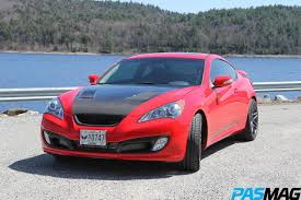 hyundai genesis pasmag performance auto and sound hyundai genesis coupe 3 8l