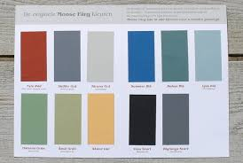 free colour sample chart moose färg paint for wood swedish paint