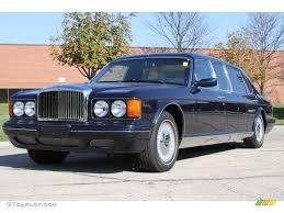 bentley mulliner limousine 1999 dark sapphire blue bentley continental mulliner park ward