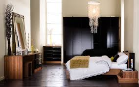 creative pattern creative black gloss bedroom furniture with