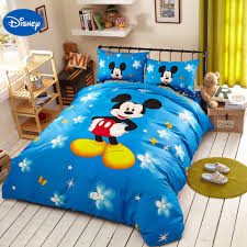 Mickey Mouse Bedroom Furniture by Mickey Mouse Single Bedding Set Promotion Shop For Promotional