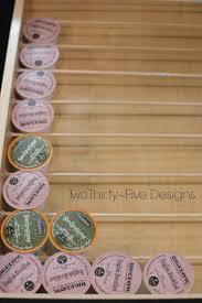 best ideas about cup storage pinterest keurig diy cup organizer