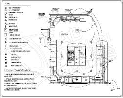 floor sample plan of restaurant kitchen layouts with island