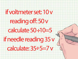 component how to use voltage meter a multimeter learn using