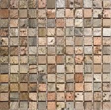 epoch tile co1x1 1x1 copper tumbled slate ceramic floor tiles