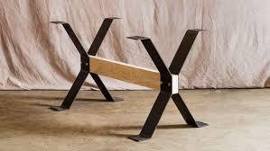 dining room table legs trestle style steel dining table legs steel dining table legs and