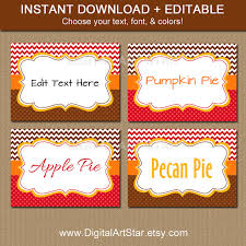 thanksgiving labels thanksgiving place cards printable thanksgiving label