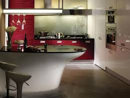kitchen modern kitchen furniture sets attractive white white red