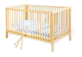 chambre bébé pin massif lit bébé évolutif 140 70 pin massif brut