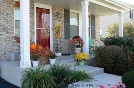 Fall Hay Decorations - www front porch ideas and more com image files aut