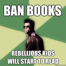 Books Meme - banned books v s reads