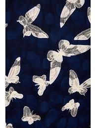 navy butterfly print lace dress quiz clothing
